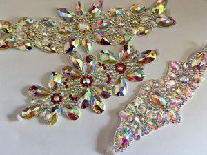 Side Diamanté Head Pieces