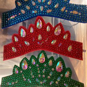 Diamante Head Pieces for Irish Dancing