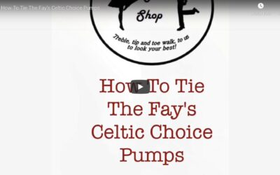 How to Tie Fay's Celtic Choice Light Shoes